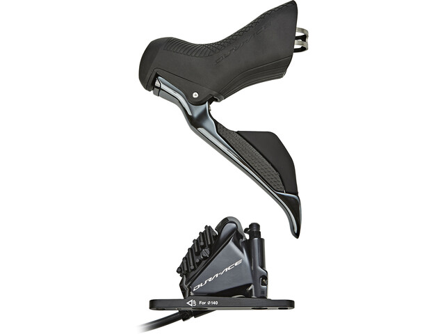 Shimano Dura-Ace Di2 ST-R9170/BR-R9170 Schijfrem Voorwiel, black